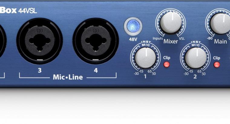 Interface Áudio Presonus AudioBox 44VSL | USB